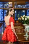 Короткое вечернее платье с открытой спиной Rozitta