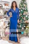 Шикарное синее платье Martina blue