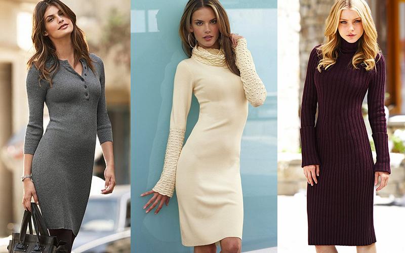 555dcc93431 Еще теплые зимние платья в отличие от легких летних